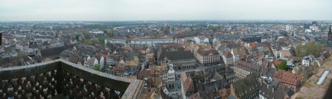Strasbourg City View
